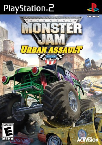 Ps2 Monster Jam 2 Urban Assault