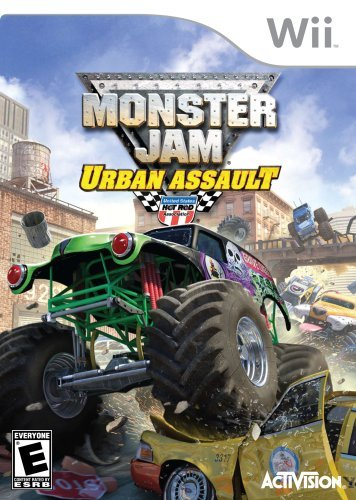 Wii Monster Jam 2 Urban Assault