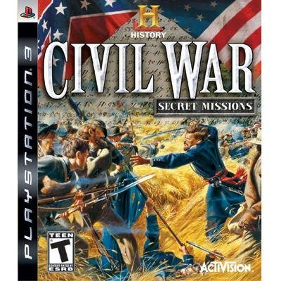 Ps3 History Channel Civil War Sec Activision