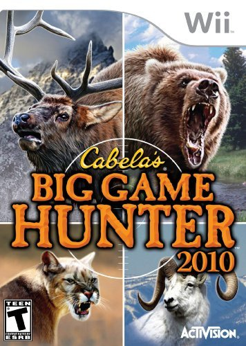 Wii Cabelas Big Game Hunter 2010 Activision T