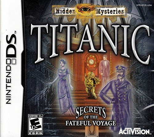 Nintendo Ds Lost Secrets Titanic Adventure
