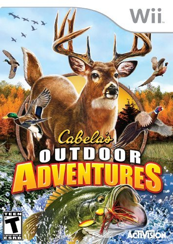Wii Cabelas Outdoor Adventures 201 Activision Inc.