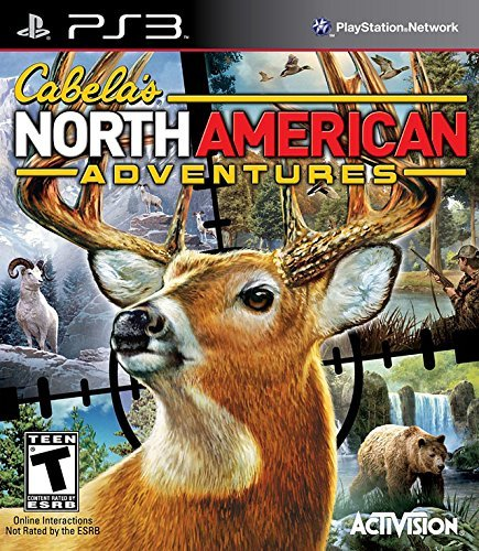 Ps3 Cabela's 2011 North American Adventure