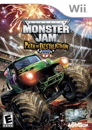Wii Monster Jam 3 Path Of Destruction