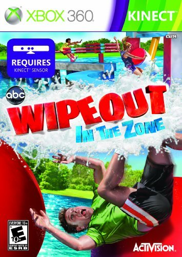 Xbox 360 Kinect Wipeout In The Zone Activision Inc. E10+