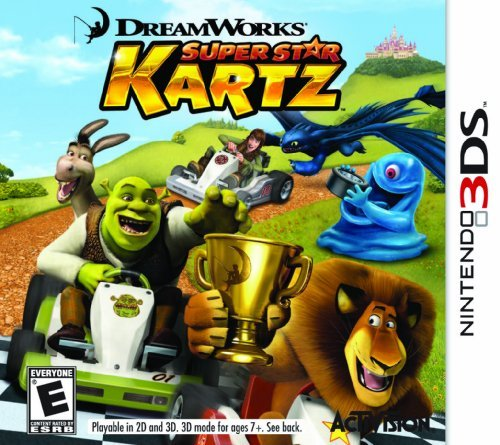 Nintendo 3ds Dreamworks Super Star Kartz