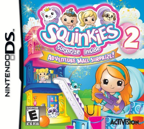 Nintendo Ds Squinkies 2 Activision Inc. E