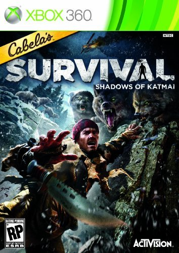 Xbox 360 Cabelas Survival Shadows Of K Activision Inc. T