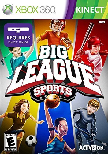 Xbox 360 Kinect Big League Sports