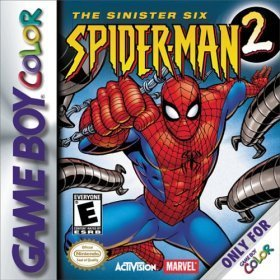 Gameboy Color Spiderman 2 The Sinister Six E