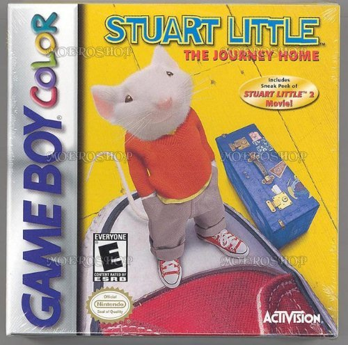 Gameboy Color Stuart Little Journey Home E