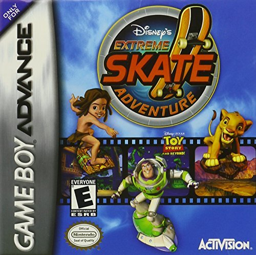 Gba Extreme Skate Adventure