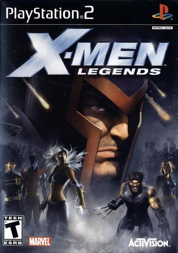 Ps2 X Men Legends