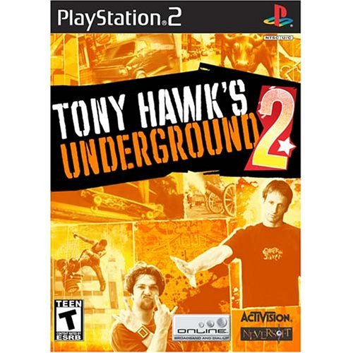 Ps2 Tony Hawk's Underground 2