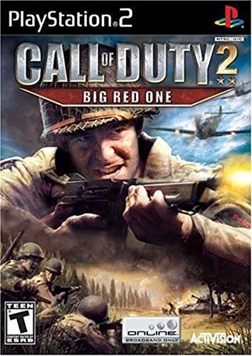Ps2 Call Of Duty 2 Big Red