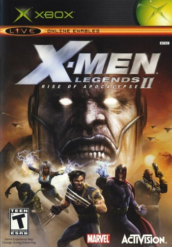 Xbox X Men Legends 2