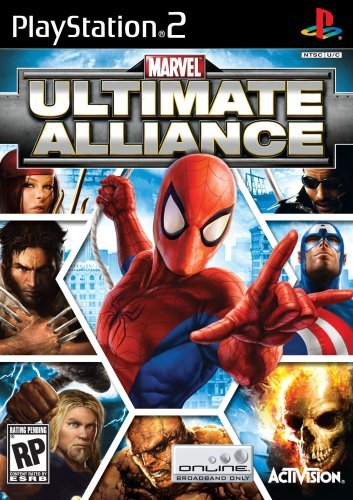 Ps2 Marvel Ultimate Alliance Activision