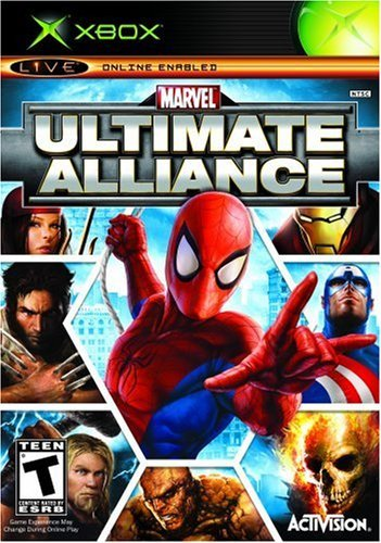 Xbox Marvel Ultimate Alliance