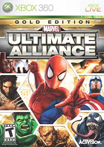 Xbox 360 Marvel Ultimate Alliance