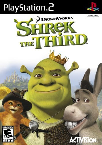 Ps2 Shrek The Third