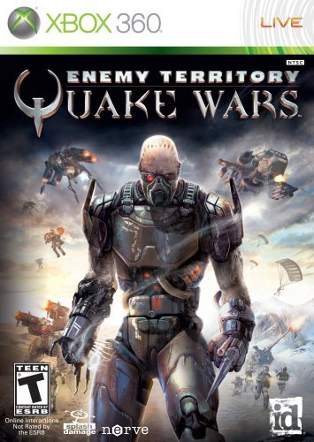 Xbox 360 Enemy Territory Quake War