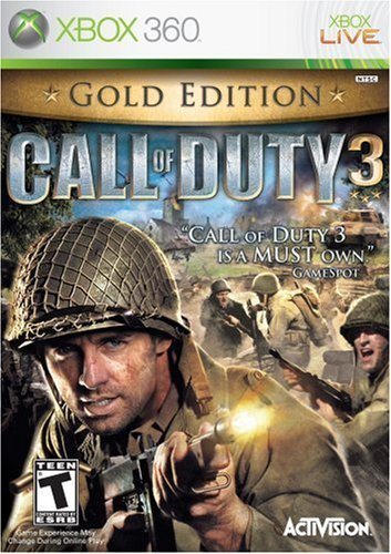 Xbox 360 Call Of Duty 3 Gold Edt