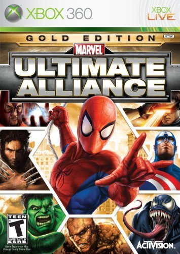 Xbox 360 Marvel Ultimate Alliance Gold