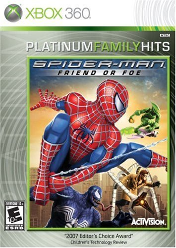 Xbox 360 Spider Man Friend Or Foe
