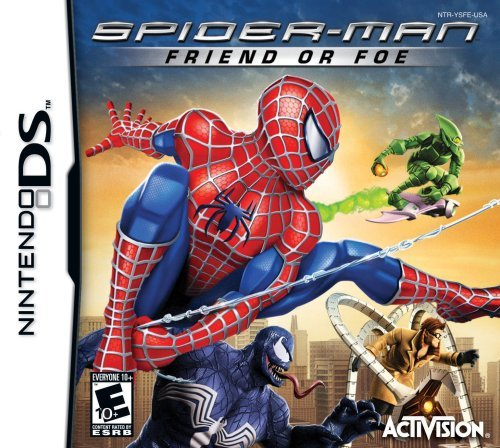 Nintendo Ds Spider Man Friend Or Foe