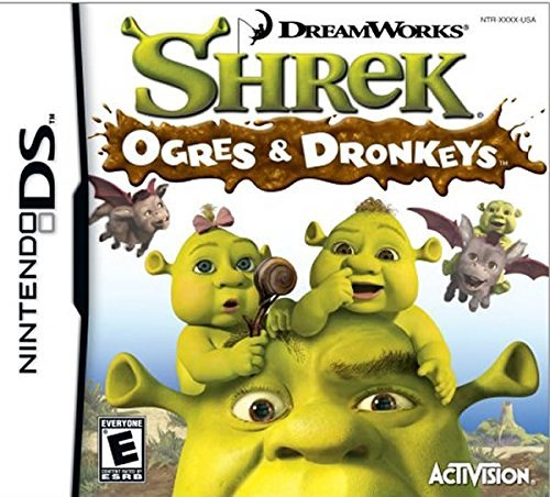 Nintendo Ds Shrek The Third Ogres & Donkeys