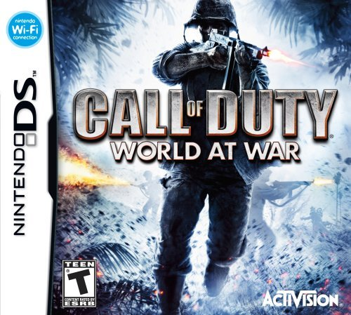 Nintendo Ds Call Of Duty World At War Activision Inc. T