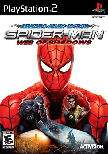 Ps2 Spiderman Web Of Shadows