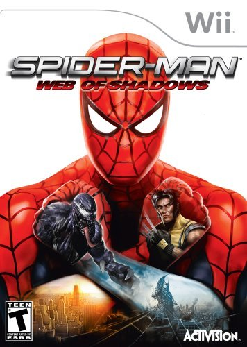 Wii Spiderman Web Of Shadows