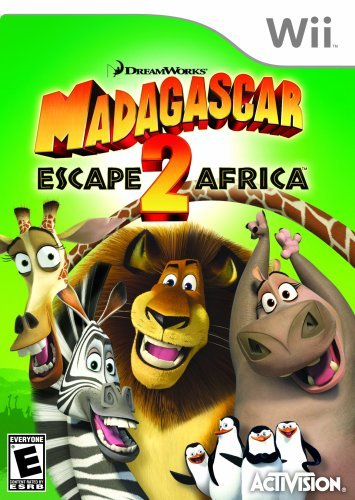 Wii Madagascar 2 Crate Escape