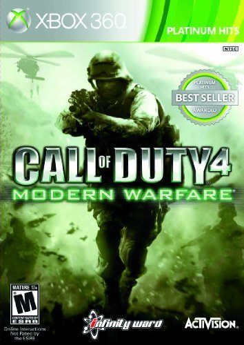 Xbox 360 Call Of Duty 4 Game Of The Year Edition