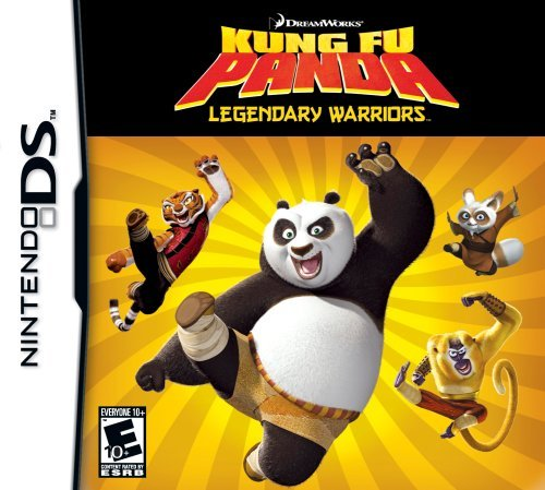 Nintendo Ds Kung Fu Panda Legendary Warri