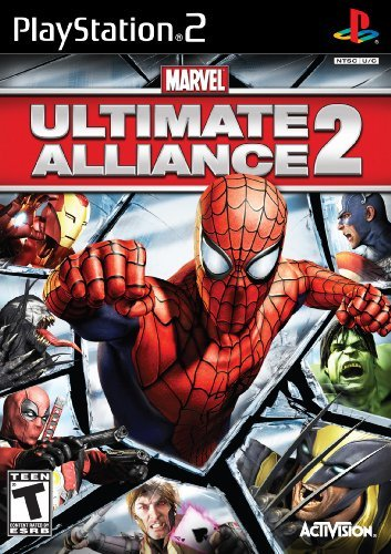 Ps2 Marvel Ultimate Alliance 2