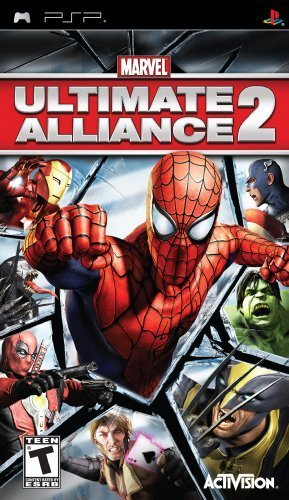 Psp Marvel Ultimate Alliance 2