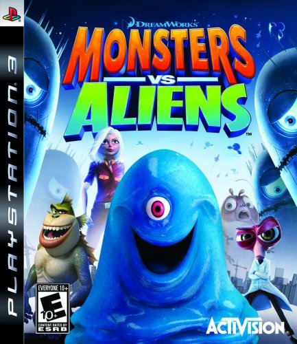 Ps3 Monsters Vs. Aliens