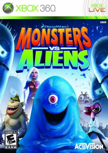 X360 Monsters Vs. Aliens