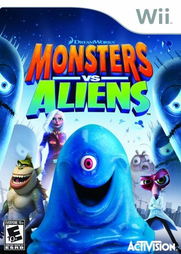 Wii Monsters Vs. Aliens