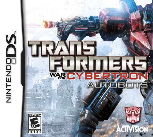 Nintendo Ds Transformers War For Cybertro Activision Inc. E10+