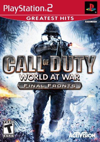 Ps2 Call Of Duty World At War Final Fronts
