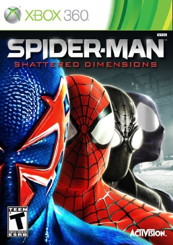 Xbox 360 Spider Man Shattered Dimension Activision Inc. T