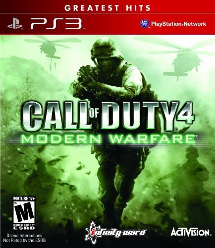 Ps3 Call Of Duty Modern Warfare Greatest Hits