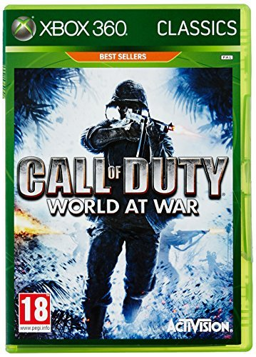 Xbox 360 Call Of Duty World At War Pla Activision Inc. M