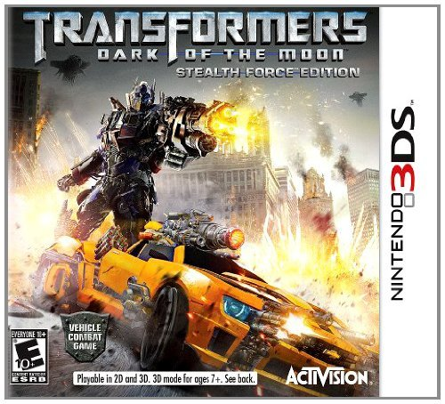 Nintendo 3ds Transformers Movie 2011 Activision Inc. E10+