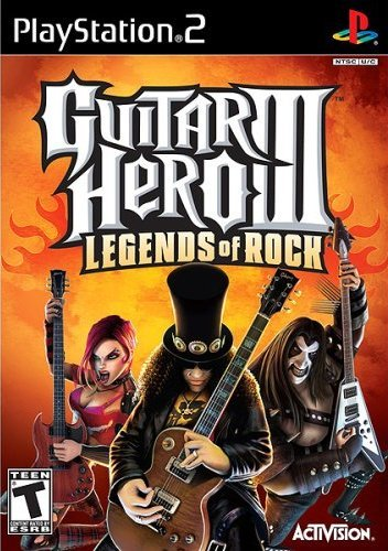Ps2 Guitar Hero 3 Game Only