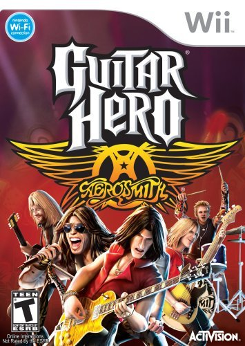 Wii Guitar Hero Aerosmith