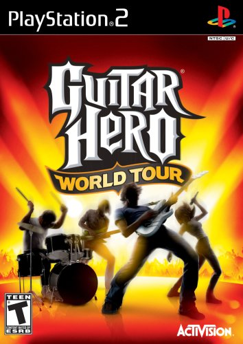 Ps2 Guitar Hero World Tour Game Only